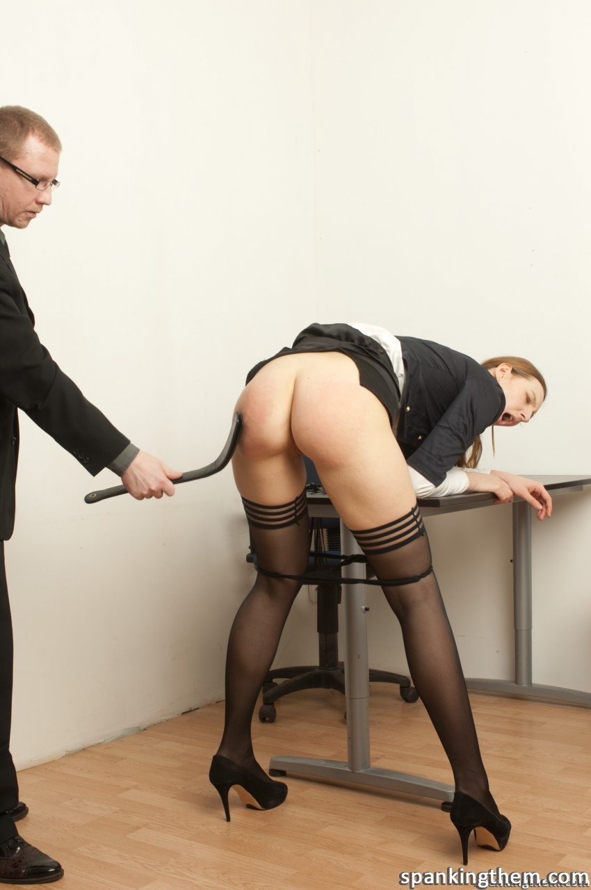 Secretary Picture Spanking Scene